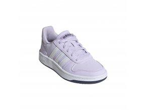 Adidas EG9075 HOOPS 2.0 K PRPTNT/FTWWHT/TECIND