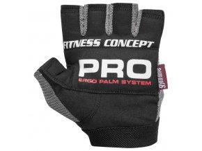 POWER SYSTEM Fitness rukavice FITNESS černá/šedá