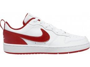 NIKE COURT BOROUGH LOW 2 Big K BQ5448 103 bílá/červená
