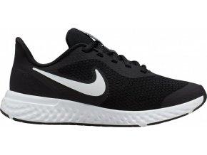 Nike REVOLUTION 5 GS BQ5671 003 černá/bílá