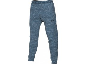 NIKE M Dri-FIT PANT FLEECE CJ4312 432 modrá