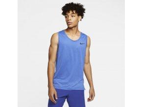 Nike M Pro Tank CJ4609 451 modrá