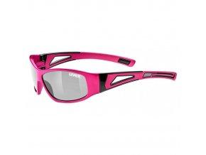 Juniorské brýle Uvex Sportstyle 509 tmavě růžová
