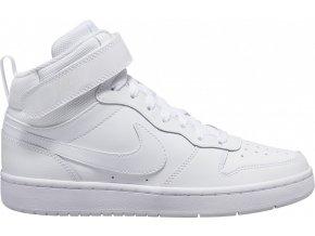 Nike Court Borough mid 2 Big K GS CD7782 100 bílá