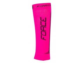 Force Kompresní návleky růžovo černé 90106