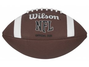 WILSON NFL official bulk XB hnědá Míč na americký fotbal
