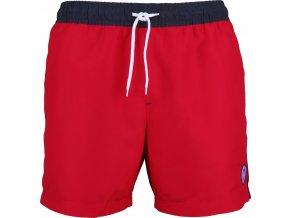 Koupací šortky Stuf JAson 3 červená anthracitová
