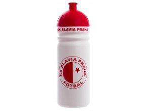 láhev Slavia 1l bílo červená
