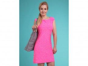 Loap MAMBA dámské sportovní šaty růžová