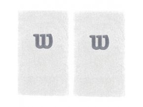 WILSON EXTRA WIDE W WRISTBAND Wh/Wh