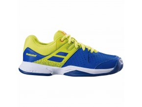 Babolat Pulsion Clay JR blue / fluo Aero