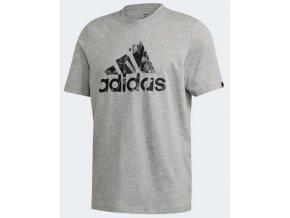 Adidas Photo Logo Tee GD5879 šedá