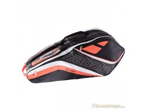 Babolat Team RH X6 black fluo red