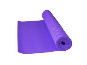 Power system fitnes yoga mat  fialová barva Cvičební podložka