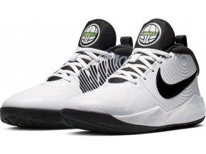 Nike HUSTLE D9 KIDS AQ4224 100 bílá