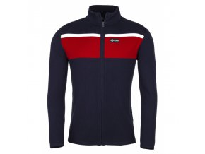 Kilpi Cardig červená pánský svetr