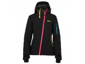 Kilpi Asimetrix-W černá dámská zimní bunda
