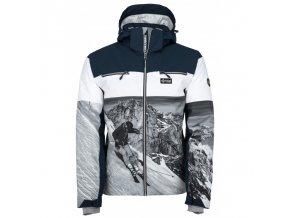 KILPI Laurent tmavě modrá pánská zimní bunda