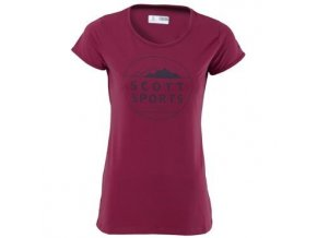 SCOTT Tee W,s 10 Dri sangri purple