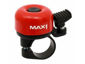 Zvonek MAX1 mini červený