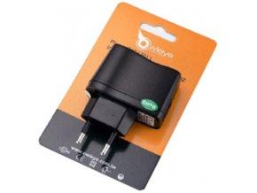 Síťový adaptér OWLEYE pro nabíjení ze sítě 220V/USB