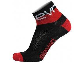 Ponožky ELEVEN Howa EVN vel. 2- 4 (S) black/red