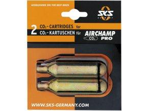 Bombička SKS Airgun 16g sada - 2ks se závitem