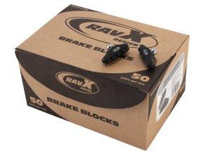 Botka RAVX Shimano silniční 50 mm box 50 párů