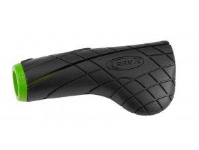 Gripy RAVX Comfy X zeleno/černé