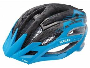 Přilba KED Wayron PRO M černá/sv.modrá matt  55-59 cm