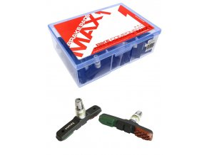 Brzdová botka závit MAX1 72 mm 3 barevná balení 25 párů