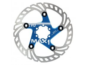 Brzdový kotouč MAX1 Evo 180 mm modrý