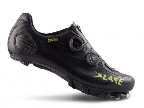 Tretry LAKE MX332 SuperCross černo/žluté vel.43