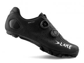 Tretry LAKE MX332 černo/stříbrné vel.48