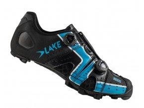 Tretry LAKE MX241 černo/modré vel.43