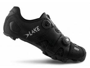 Tretry LAKE MX241 černo/stříbrné vel.48