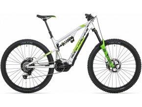 Elektrokolo Rock Machine Blizzard INT2 e90-29 RZ gloss silver/DVO green/black (M)