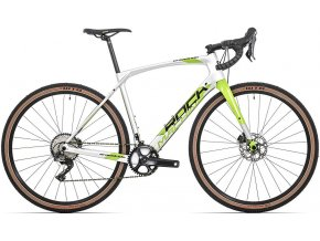 Kolo Rock Machine GravelRide CRB 900 gloss silver/DVO green/black 56cm