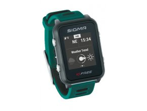 Chytré hodinky SIGMA iD.FREE zelené