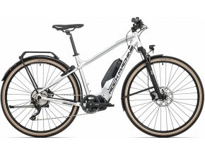 Elektrokolo Rock Machine CrossRide e700 Touring TEST gloss silver/black (L)
