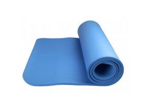 Power system Yoga Mat plus modrá Cvičební podložka