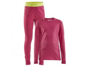 set craft core warm baselayer junior ruzova