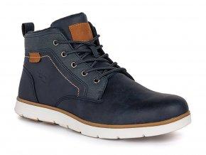 28397 loap onics panske zimni boty modra zluta csm2010l11c