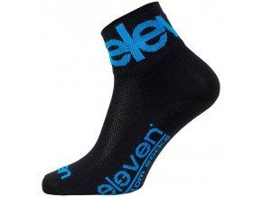 Ponožky ELEVEN Howa TWO BLUE vel.11-13 (XL) černé/modré