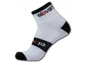 Ponožky ELEVEN Howa PREMIUM vel. 8-10 (L) bílé/černé