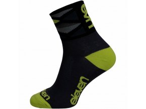 Ponožky ELEVEN Howa Rhomb Green vel. 5- 7 (M) černé/zelené