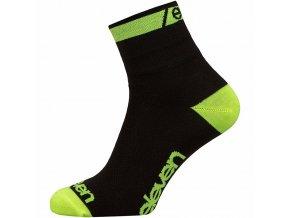 Ponožky ELEVEN Howa EVN vel.11-13 (XL) fluo/černé