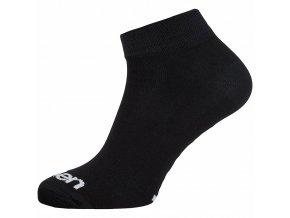 Ponožky ELEVEN Luca BASIC vel.  2- 4 (S) černé
