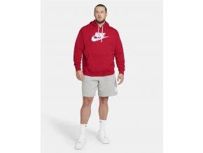 mikina sportswear club s kapuci a potiskem 8lxG7H (2)