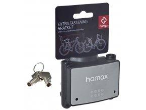 Držák sedaček HAMAX Uni pro všechny modely, uzamykatelný